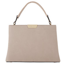 Buy Dune Dulice Top Handle Box Grab Bag, Mink Online at johnlewis.com
