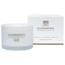 Buy Rathbornes Rosemary & Fougere Candle Online at johnlewis.com