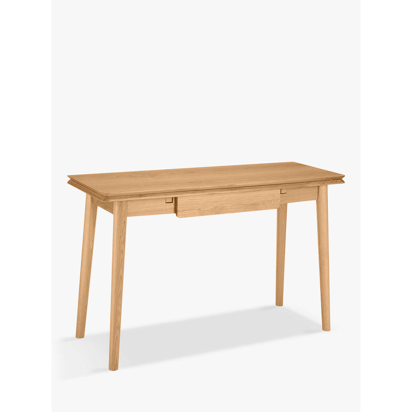 House By John Lewis Bow Folding Console Table Oak At Johnlewis Com