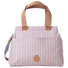 Buy Pacapod Richmond Herringbone Bag, Pink Online at johnlewis.com
