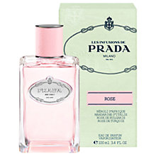 Buy Prada Les Infusions de Prada Rose Eau de Parfum, 100ml Online at johnlewis.com