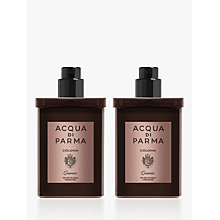 Buy Acqua di Parma Colonia Quercia Eau de Cologne Concentrée Travel Refill Spray, 2 x 30ml Online at johnlewis.com