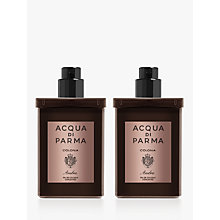 Buy Acqua di Parma Colonia Ambra Eau de Cologne Concentrée Travel Refill Spray, 2 x 30ml Online at johnlewis.com