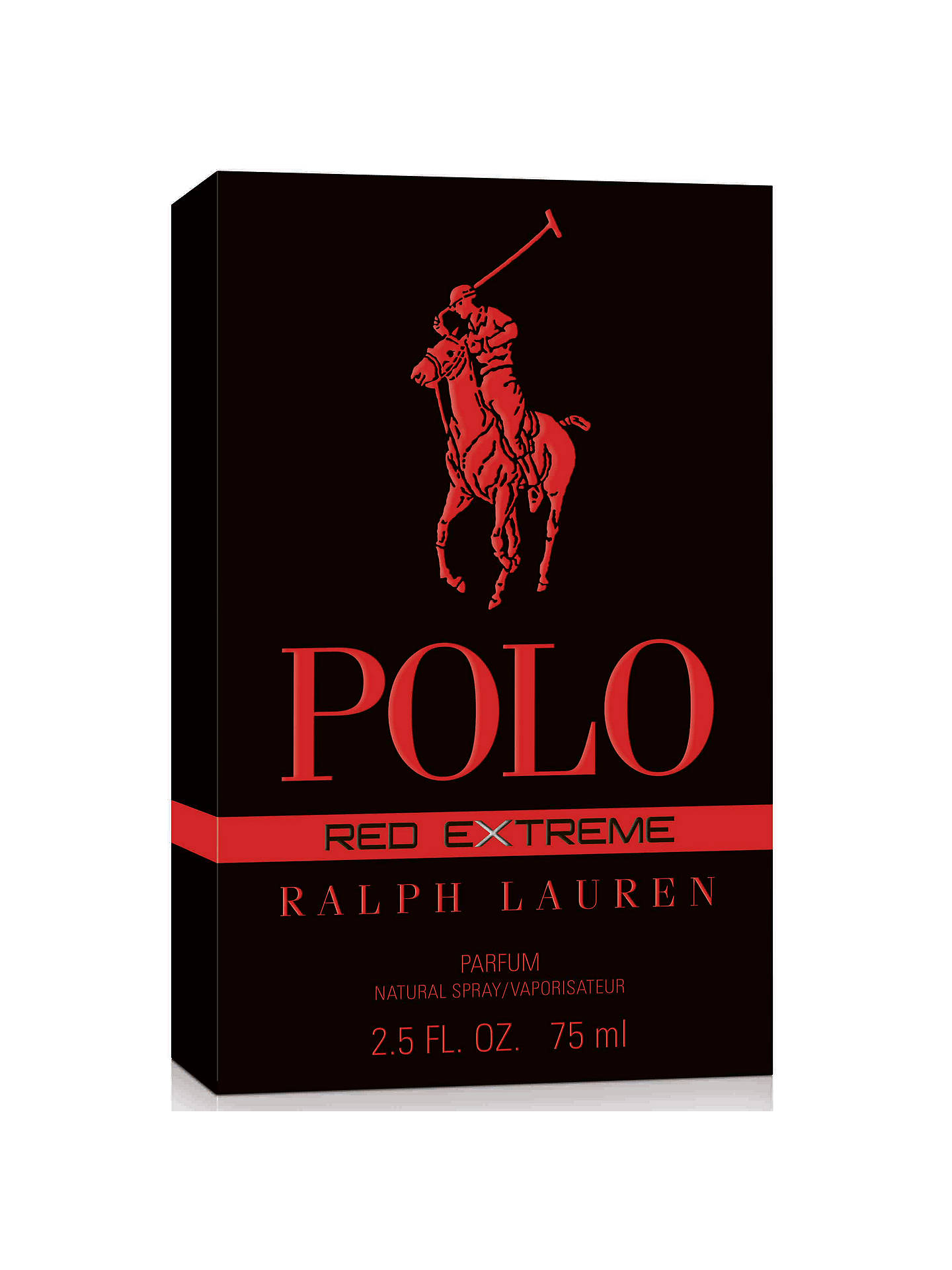 ... BuyRalph Lauren Polo Red Extreme Eau de Parfum, 75ml Online at  johnlewis.com 68267fb5849d