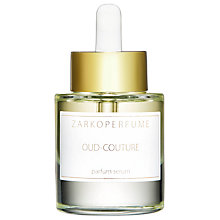 Buy ZARKOPERFUME Oud-Couture Parfum Serum, 30ml Online at johnlewis.com