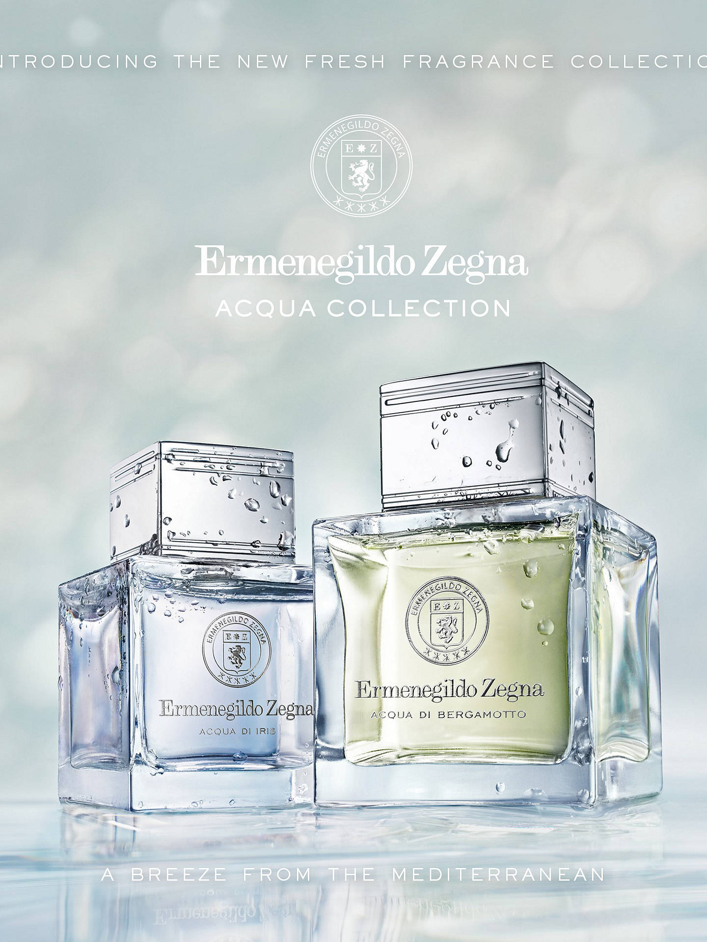 Buy Ermenegildo Zegna Acqua Di Iris Eau de Toilette, 100ml Online at johnlewis.com