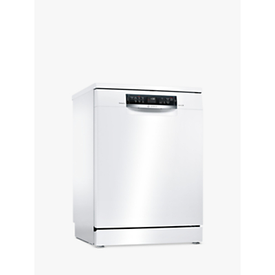 Bosch SMS67MW00G Freestanding Dishwasher, White