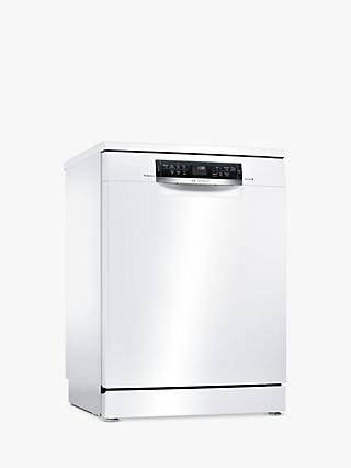 Bosch SMS67MW00G PerfectDry Freestanding Dishwasher, White