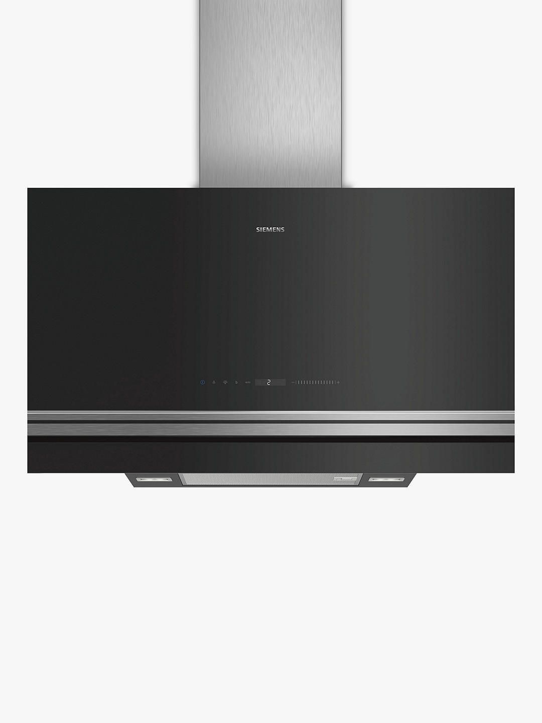 Buy Siemens LC97FVW60B Chimney Cooker Hood, Stainless Steel Online at johnlewis.com