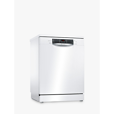 Bosch SMS46IW04G Freestanding Dishwasher, White