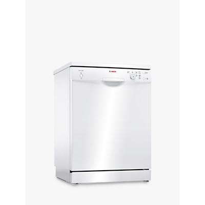 Bosch SMS24AW01G Freestanding Dishwasher, White