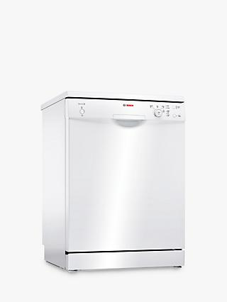 Bosch SMS24AW01G Freestanding Dishwasher, White