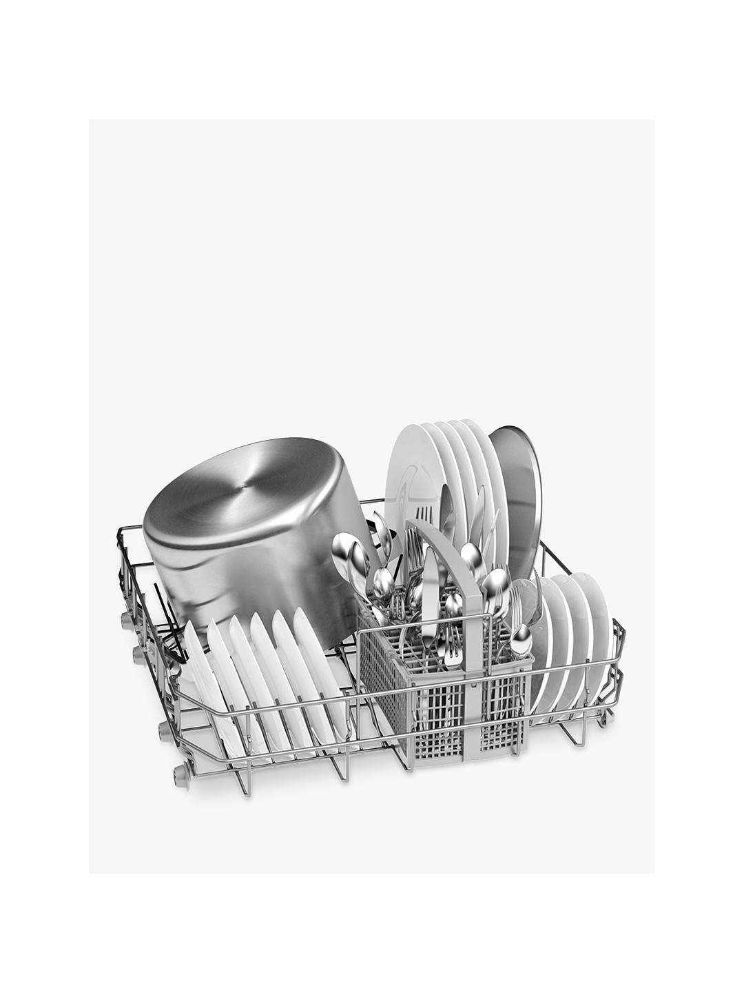 Buy Bosch SMS24AW01G Freestanding Dishwasher, White Online at johnlewis.com