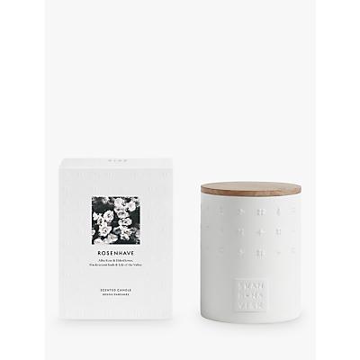 SKANDINAVISK Rosenhave Ceramic Candle