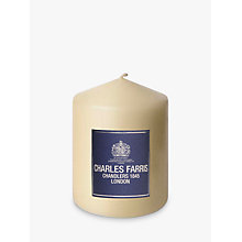Buy Charles Farris Altar Pillar Candle, H10cm, Ivory Online at johnlewis.com