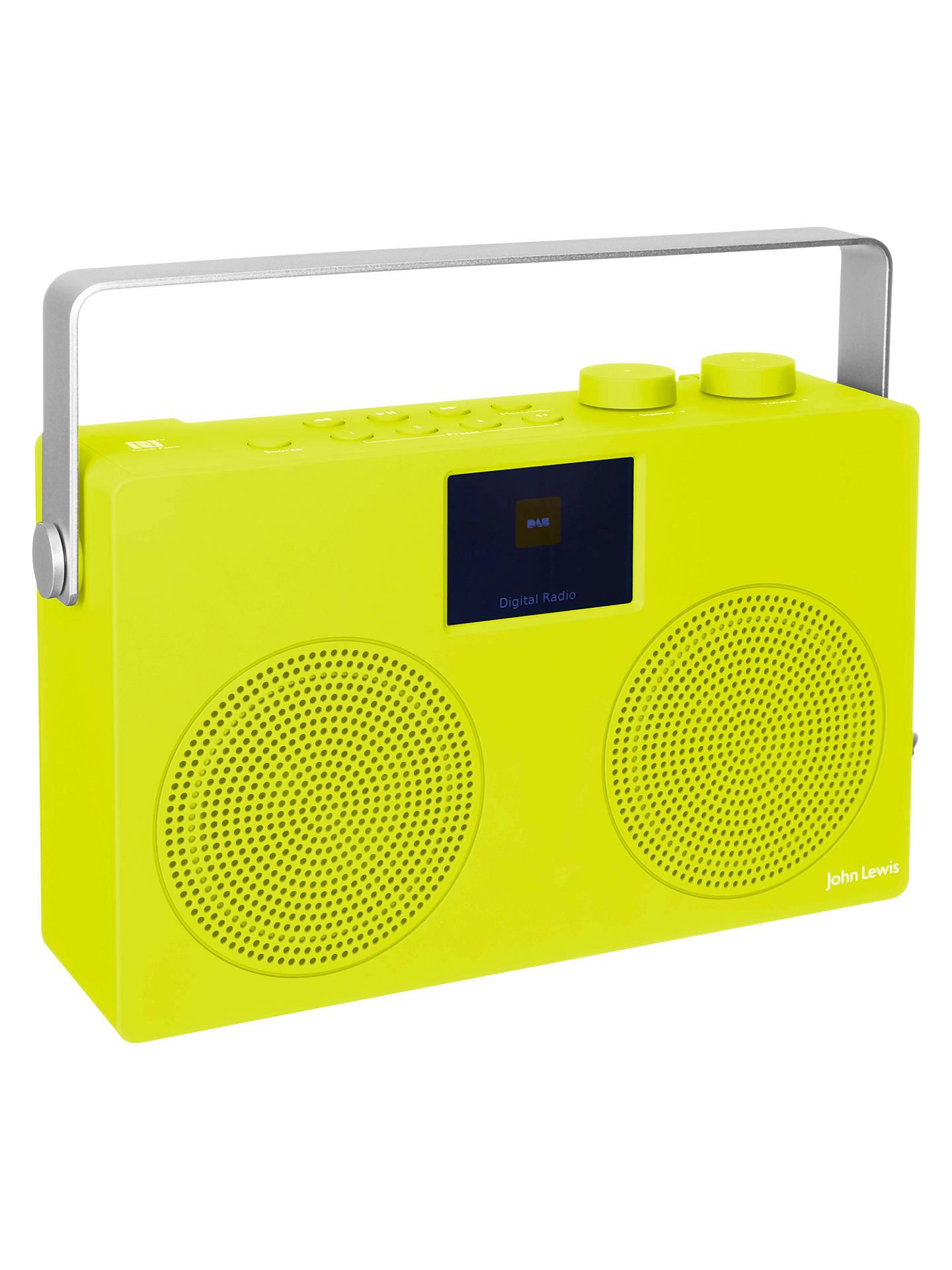 John Lewis Partners Spectrum Duo Ii Dab Fm Bluetooth Nfc Kit Digital Display Frequensi Counter Untuk Tuner Buyjohn Radio