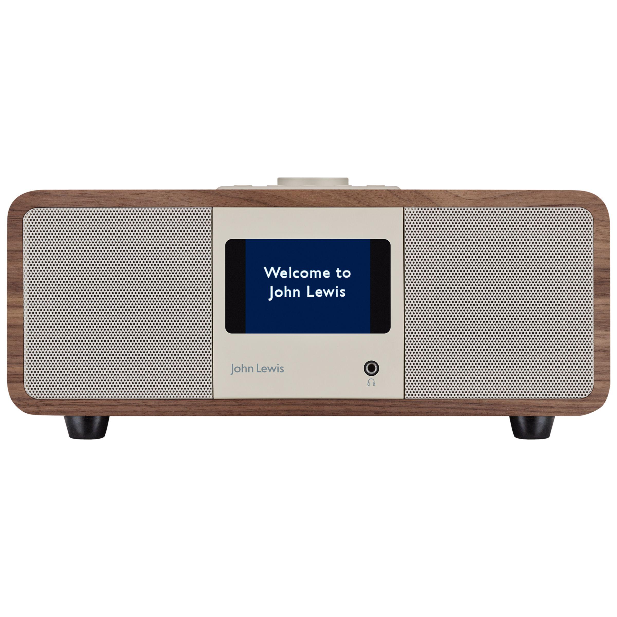Octave DAB/DAB+/FM/Internet Radio with Wireless Connectivity, Walnut