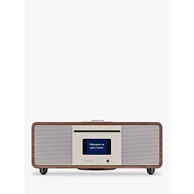 Image of John Lewis & Partners Cello Hi-Fi Music System with DAB/DAB+/FM/Internet Radio, CD Player, Wi-Fi & Bluetooth