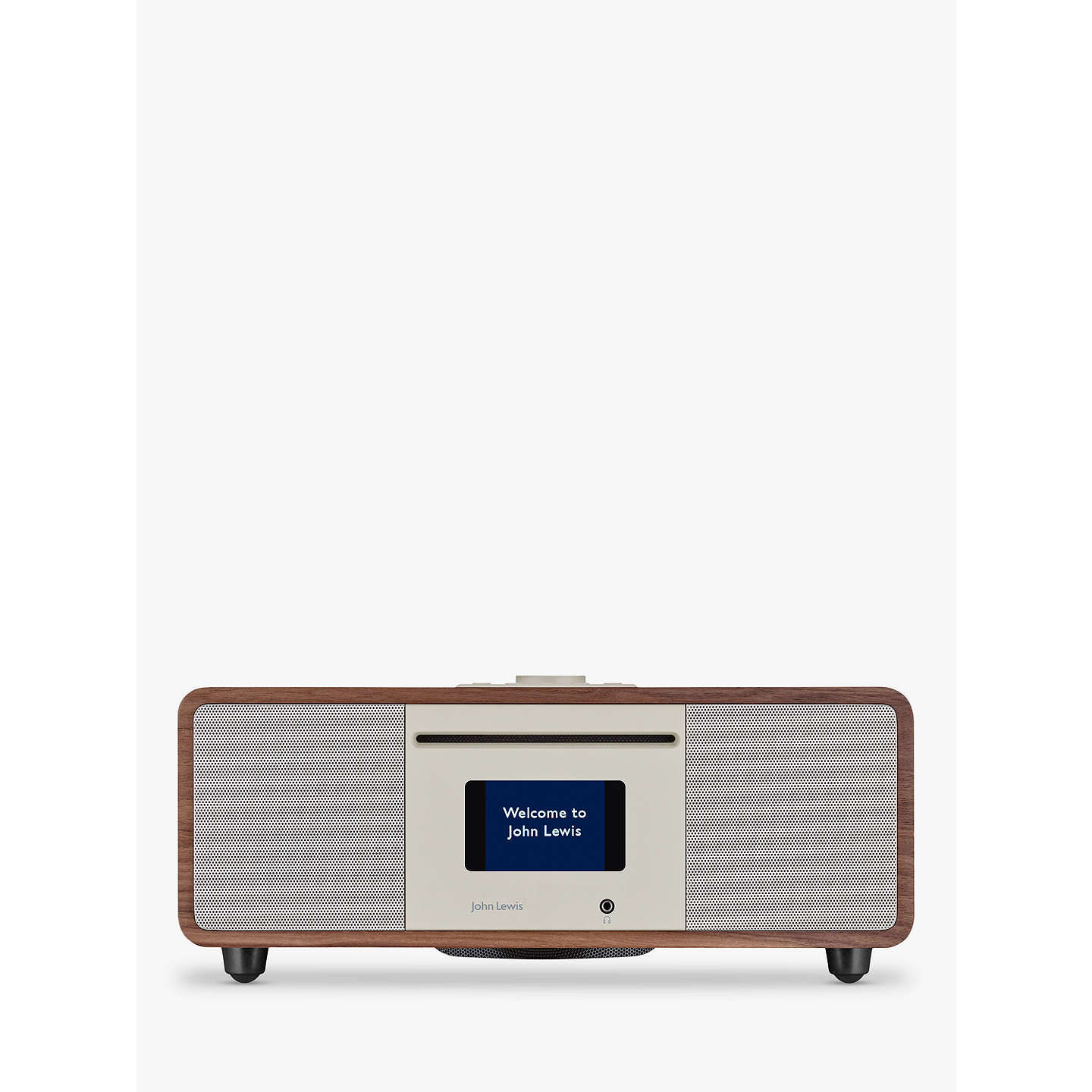john lewis cello hi fi music system with dab dab fm. Black Bedroom Furniture Sets. Home Design Ideas