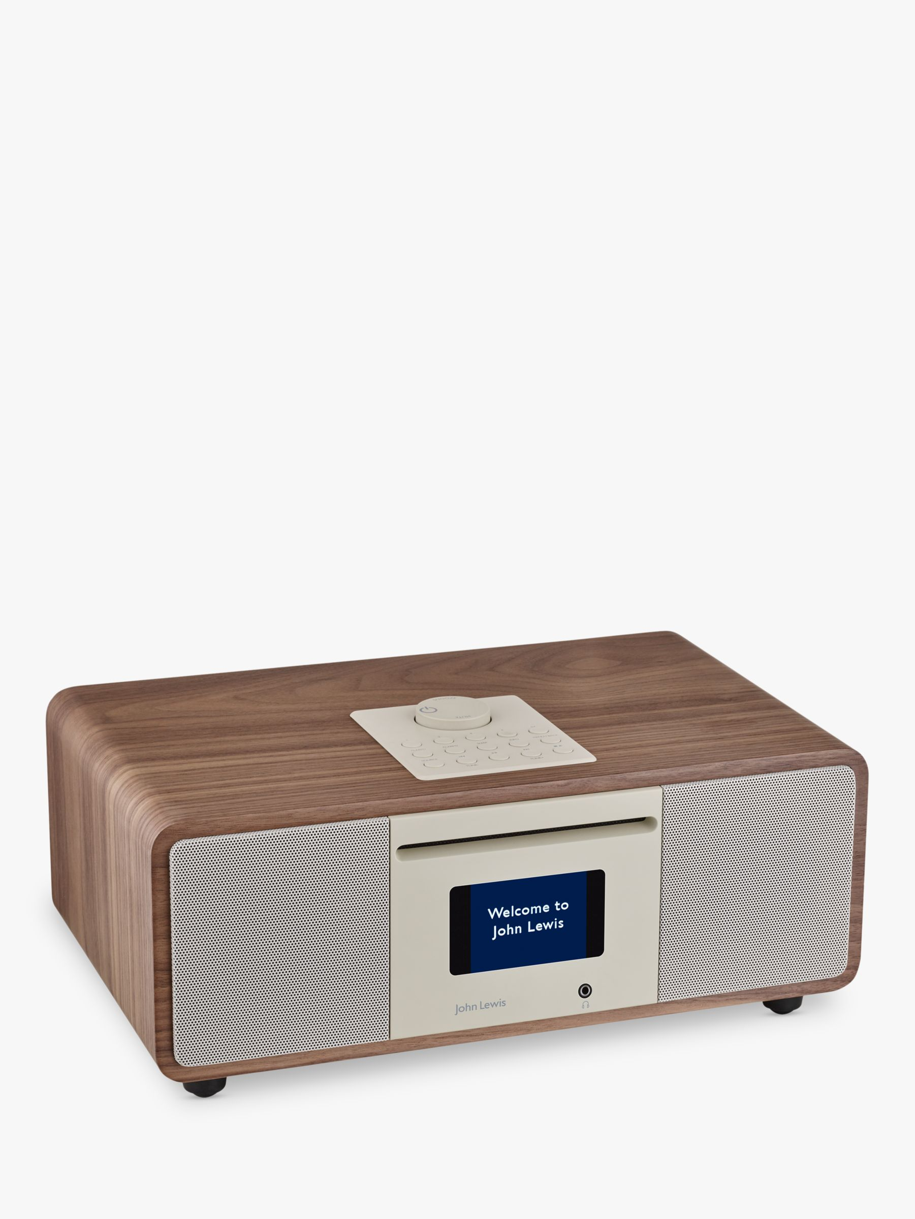 portable cd players with speakers john lewis