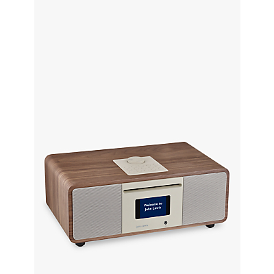 Image of John Lewis & Partners Cello Hi-Fi Music System with DAB/DAB+/FM/Internet Radio with CD Player & Wireless Connectivity