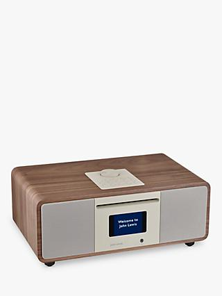 John Lewis & Partners Cello Hi-Fi Music System with DAB/DAB+/FM/Internet Radio with CD Player & Wireless Connectivity