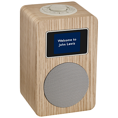 Image of John Lewis & Partners Aria DAB/DAB+/FM Bluetooth Radio