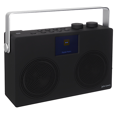Image of John Lewis & Partners Spectrum Duo II DAB/DAB+/FM Bluetooth NFC Digital Radio