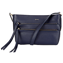 Buy DKNY Chelsea Vintage Leather Small Across Body Bag Online at johnlewis.com