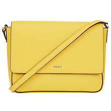 Buy DKNY Bryant Park Saffiano Leather Flap Across Body Bag Online at johnlewis.com