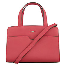 Buy DKNY Bryant Park Leather Mini Satchel Online at johnlewis.com