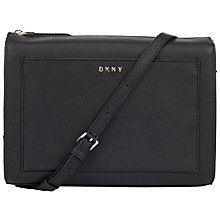 Buy DKNY Bryant Park Saffiano Leather Box Across Body Bag Online at johnlewis.com