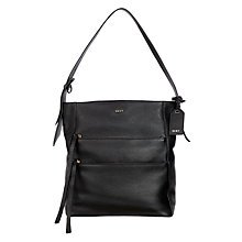 Buy DKNY Chelsea Vintage Hobo Bag, Black Online at johnlewis.com