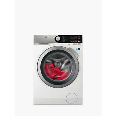 AEG L7WEE965R Freestanding Washer Dryer, 6kg Wash/9kg Dry Load, A Energy Rating, 1600rpm Spin, White Gloss