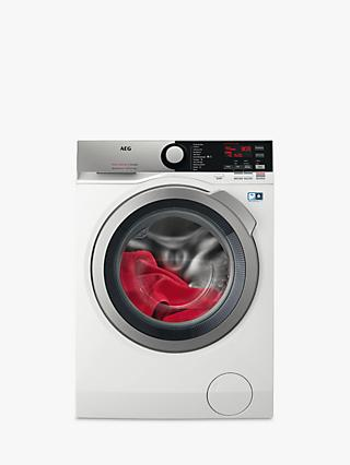 AEG L7WEE965R Freestanding Washer Dryer, 9kg Wash/6kg Dry Load, A Energy Rating, 1600rpm Spin, White Gloss