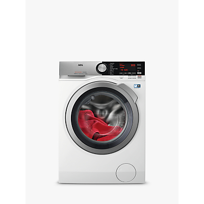 AEG L8WEC166R Freestanding Washer Dryer, 6kg Wash/10kg Dry Load, A Energy Rating, 1600rpm Spin, White