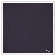 Buy Reiss Alform Piped Cotton Pocket Square Online at johnlewis.com