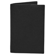 Buy Reiss Parsons Leather Passport Holder, Black Online at johnlewis.com