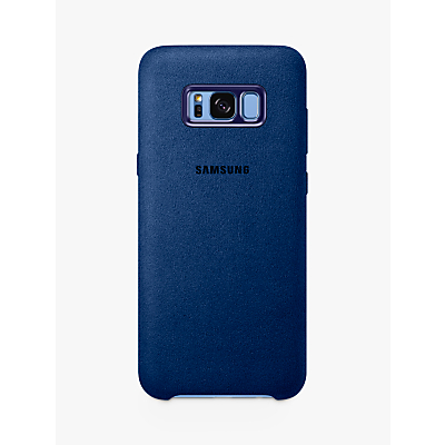 Samsung Galaxy S8 Plus Alcantara Back Cover