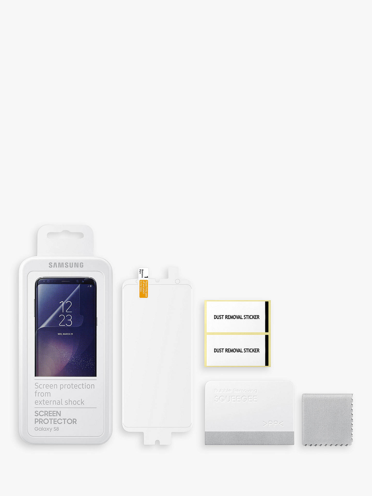 Buy Samsung Screen Protector for Samsung Galaxy S8 Online at johnlewis.com