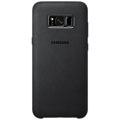 Image of Samsung Galaxy S8 Plus Alcantara Back Cover