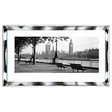 Buy Brookpace, The Manhattan Collection - Thames, Big Ben, London Framed Print, 101.5 x 51cm Online at johnlewis.com