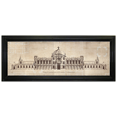 Brookpace – Grand Estate In The County Framed Print, 103 x 42cm