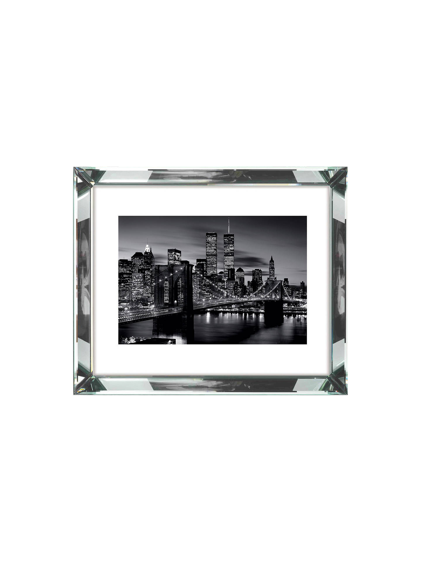 Buy Brookpace, The Manhattan Collection - Brooklyn Bridge Framed Print, 86 x 66cm Online at johnlewis.com