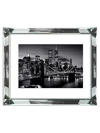 Brookpace, The Manhattan Collection - Brooklyn Bridge Framed Print, 86 x 66cm