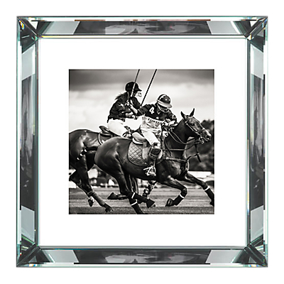 Brookpace, The Manhattan Collection – Polo II Framed Print, 56 x 56cm