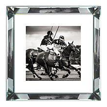 Buy Brookpace, The Manhattan Collection - Polo II Framed Print, 56 x 56cm Online at johnlewis.com
