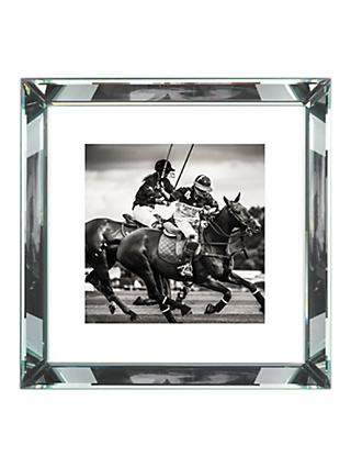 Brookpace, The Manhattan Collection - Polo II Framed Print, 56 x 56cm