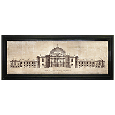 Brookpace – Palace In Oxfordshire Framed Print, 103 x 42cm