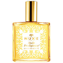 Buy NUXE Dry Oil Huile Prodigieuse® 25th Anniversary Limited Edition, 100ml, White Online at johnlewis.com